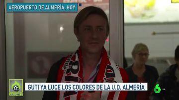 Guti ya está en Almería y coge al equipo en puestos de ascenso directo a Primera
