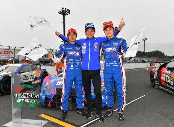 Team Le Mans Lexus 2019 Campeones Super GT Motegi