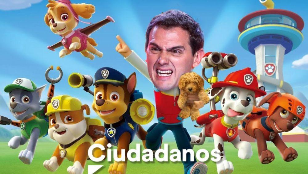 Meme de Albert Rivera