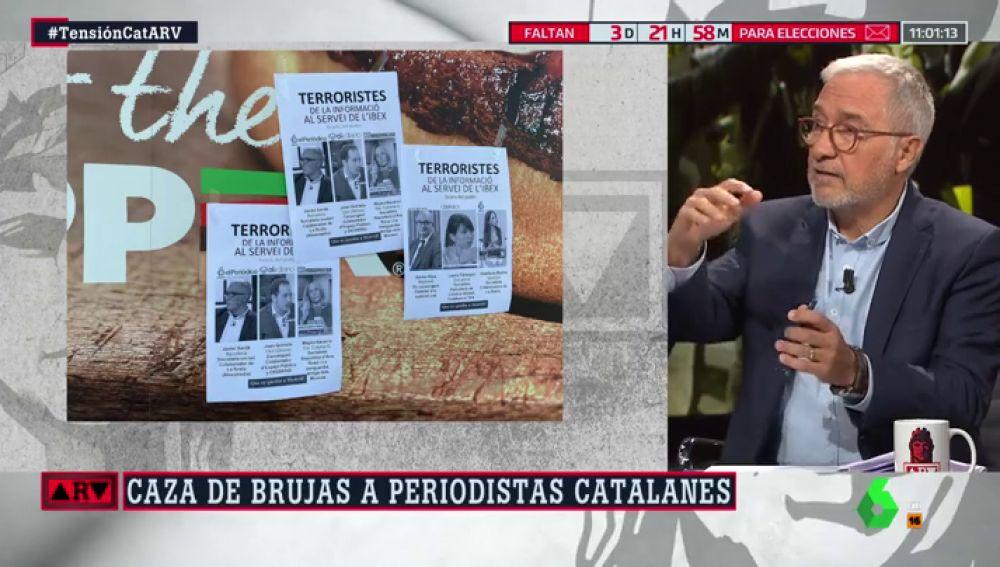 Xavier Sardá en Al Rojo Vivo