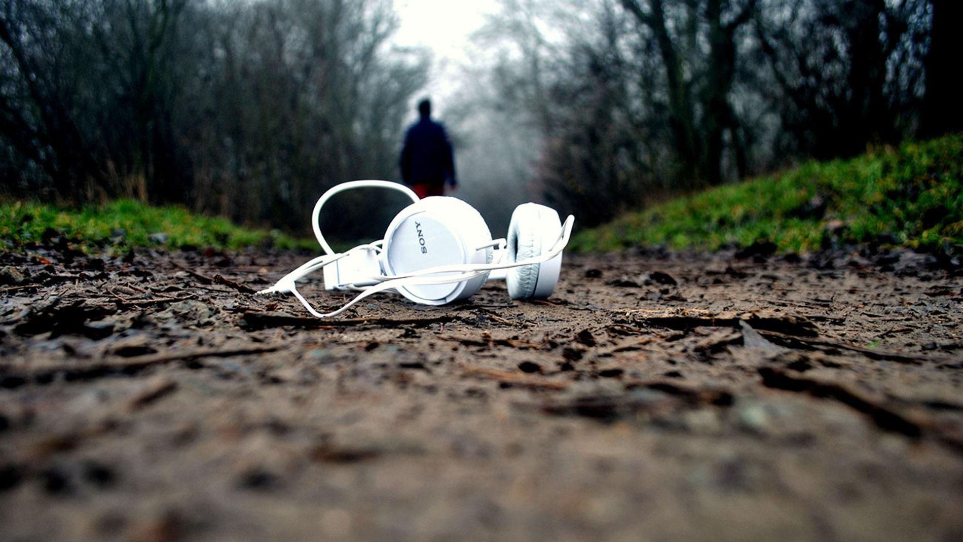 Unos auriculares extraviados
