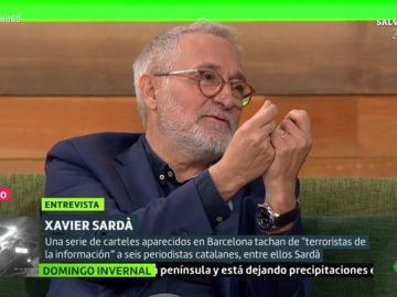 El periodista Xavier Sardà