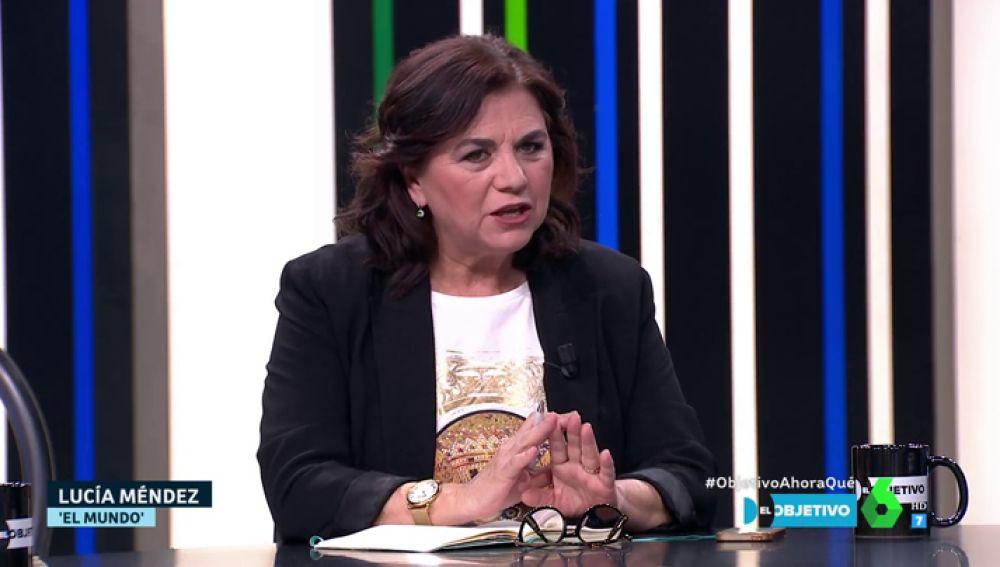 """El enfado de Lucía Méndez con los políticos: """"Tenemos derecho a que no se nos trate como si fuéramos idiotas"""""""