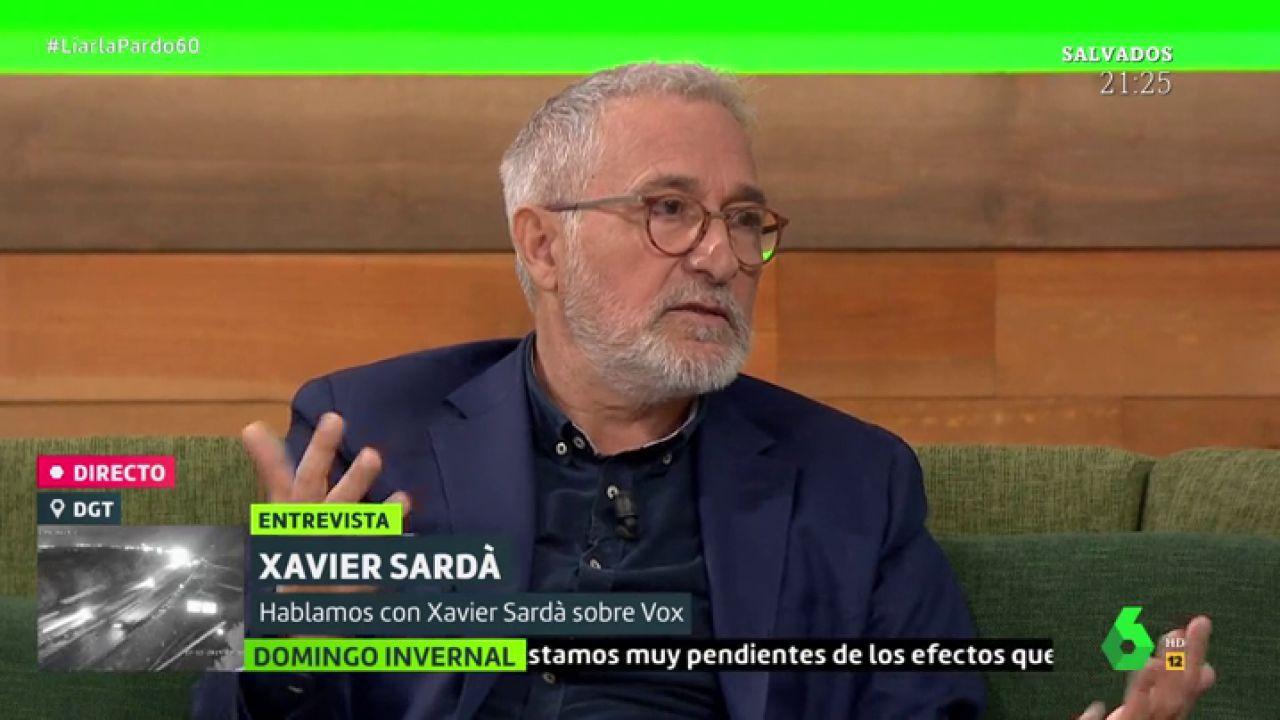 """El análisis de Xavier Sardà: """"Vox entró en las instituciones gracias al PP y Cs, que le ha costado la vida"""" - LaSexta"""