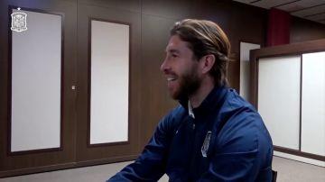 """Sergio Ramos desvela qué hizo con su primer sueldo como futbolista: """"Fue muy bonito"""""""