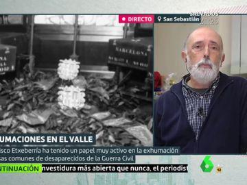 El forense Francisco Etxeberría