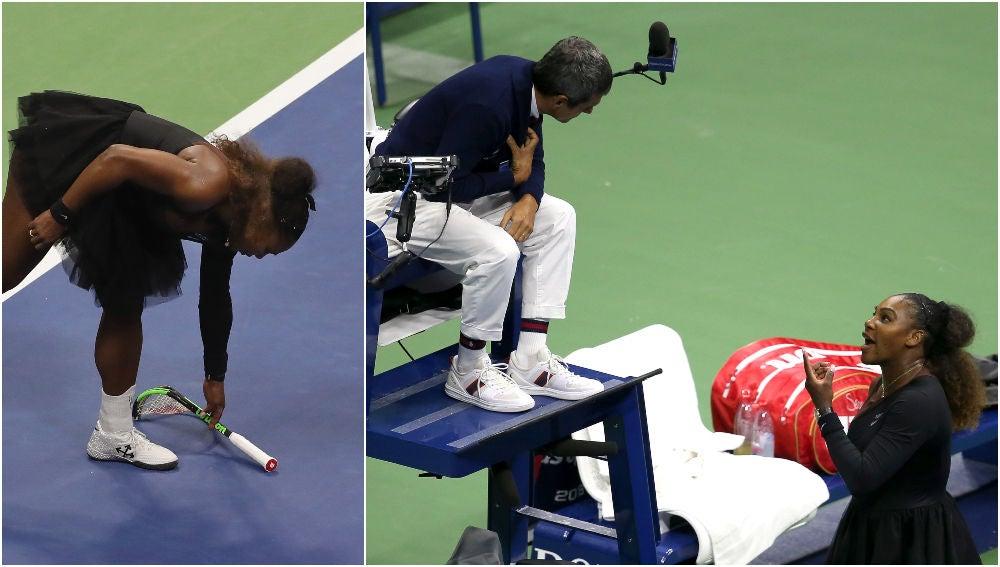 Serena Williams y su polémica final del US Open en 2018