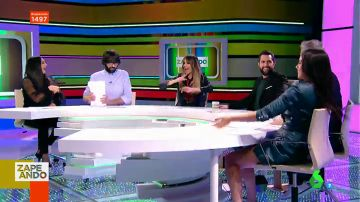 Anna Simon, Cristina Pedroche, Miki Nadal y Lorena Castell trolean a Dani Mateo con el villancico de Zapeando