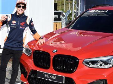 Marc Márquez se lleva un BMW X4 M Competition