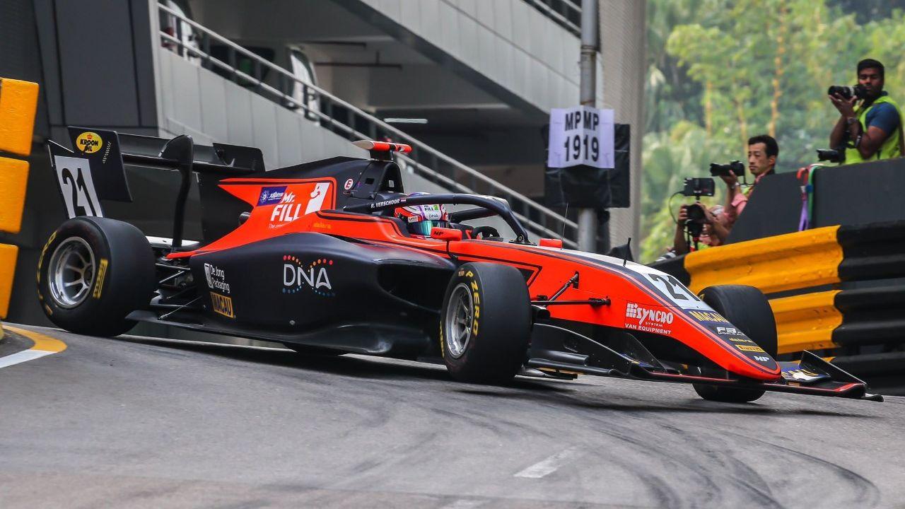 Richard Verschoor logra una sorprendente victoria en el Gran Premio de Macao de Fórmula 3 - LaSexta