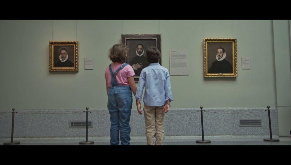 ¿En qué piensan los niños cuando ven un cuadro en un museo?: