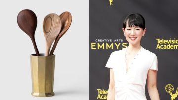 Marie Kondo y el vaso para cucharas de palo que vende online por 275 dólares