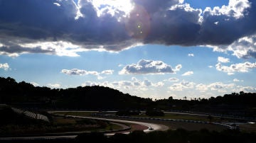 Imagen del circuito de Jerez durante unos test