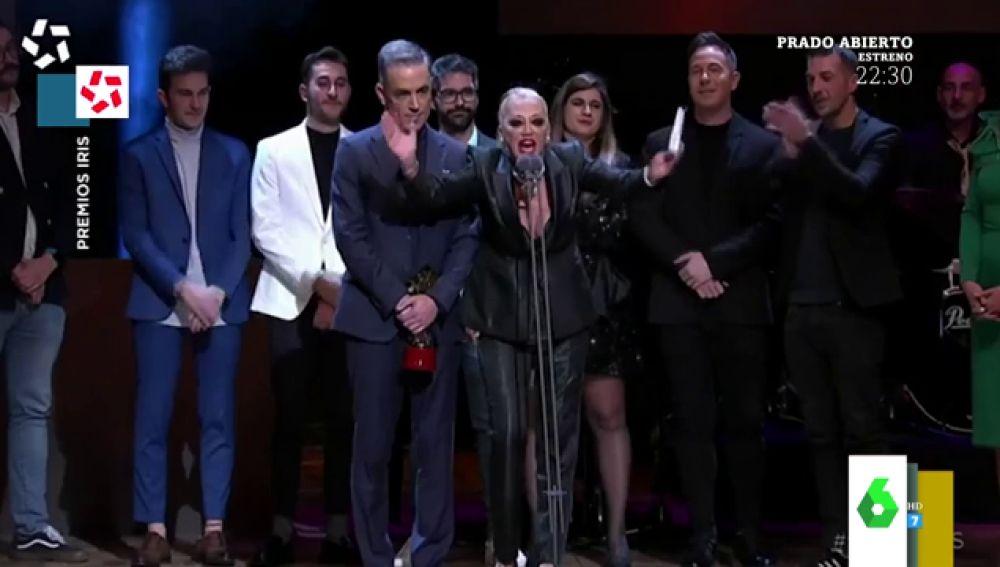 El discurso de Belén Esteban en los Premios Iris 2019 que no dejó indiferente a nadie