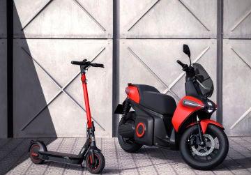 SEAT e-Scooter Concept y SEAT e-Kickscooter concept