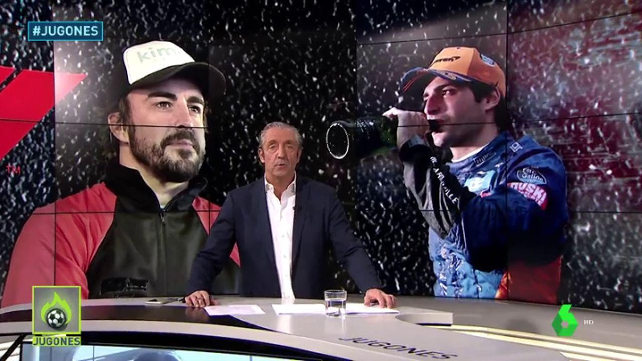 ¿Puede Carlos Sainz llegar al nivel de Fernando Alonso? Lo analizamos en Jugones
