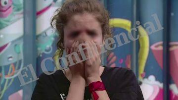 Carlota, víctima de abusos sexuales en Gran Hermano