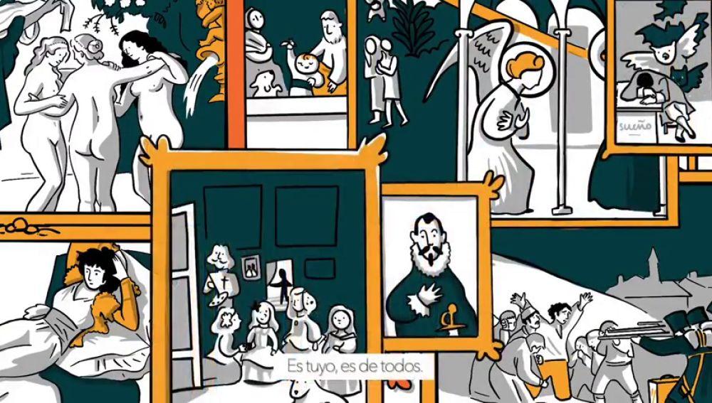 El Museo del Prado cumple 200 años: dos siglos de historia en cómic