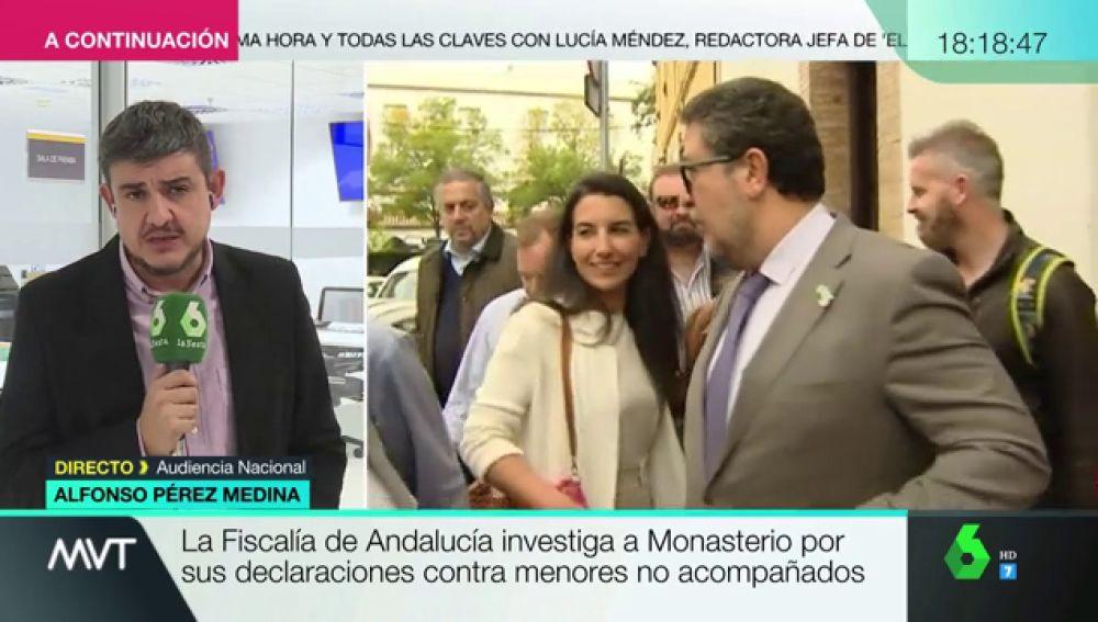 Rocío Monasterio, investigada por la Fiscalía de Andalucía por sus declaraciones sobre los menores extranjeros no acompañados