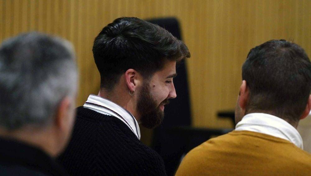 Imagen del juicio a 'La Manada' por el caso de Pozoblanco