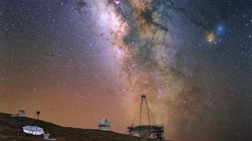 Observan explosiones cosmicas de rayos gamma con altisima energia
