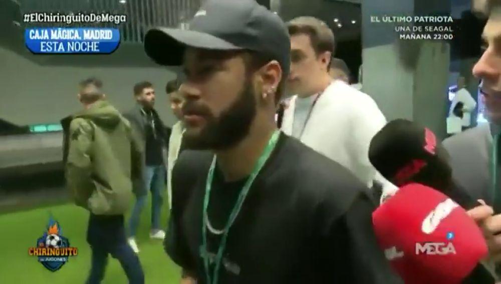 """Neymar, en la Copa Davis de Piqué: """"Siempre hablan de mí"""""""