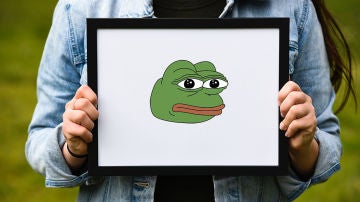 La rana más famosa de la red
