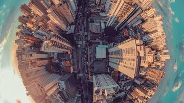 Una ciudad esférica