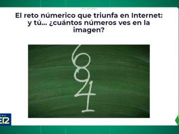Este es el reto que tiene en vilo a Internet: ¿cuántos números eres capaz de ver en la imagen?