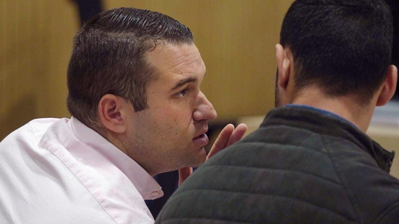 El Prenda durante el juicio a 'La Manada' por el caso de Pozoblanco