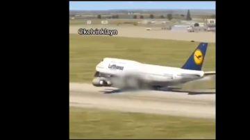 El vídeo viral de un aterrizaje forzoso en realidad es una simulación