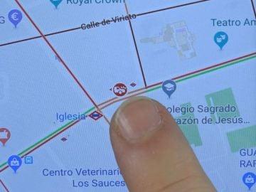 Colisiones, retenciones… Los avisos en carretera que puedes dar desde Google Maps