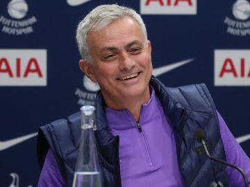 José Mourinho, en rueda de presa
