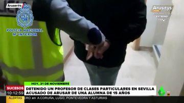Detenido un profesor particular por abusos sexuales a una niña a la que daba clases en Sevilla