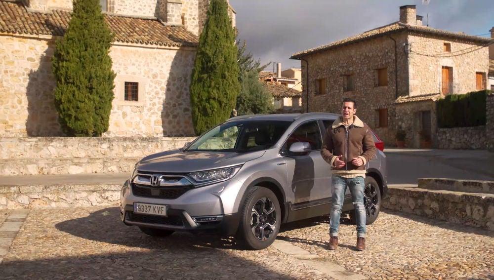 Prueba Honda CRV Hybrid