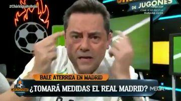 """La súplica en inglés de Tomás Roncero a Bale: """"Gareth, come back"""""""