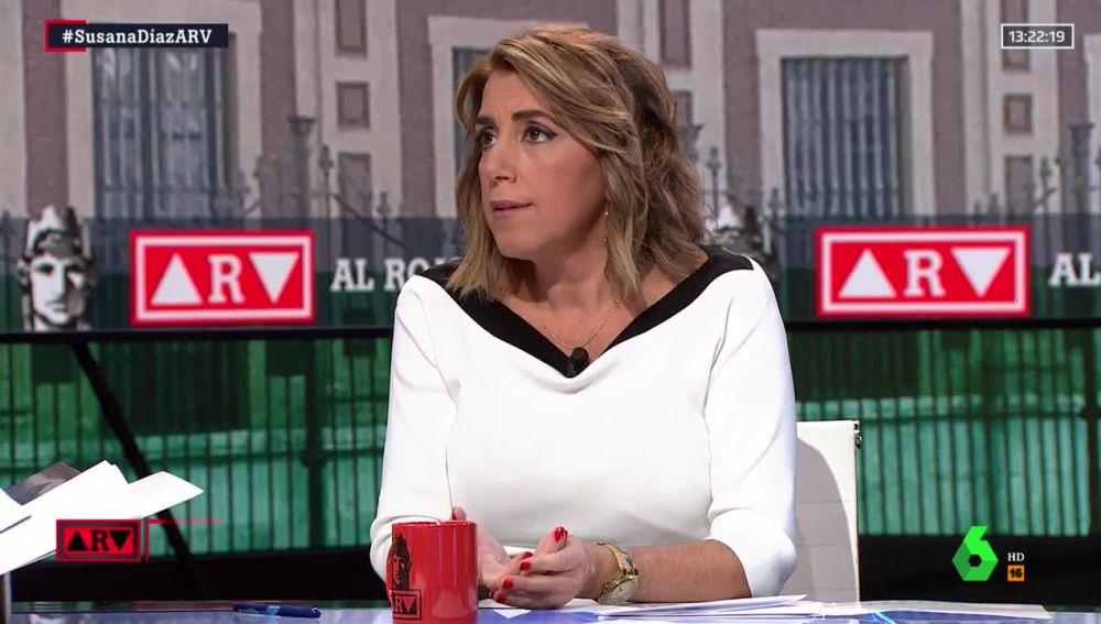 """Al rojo vivo (21-11-19) Susana Díaz: """"Pedí perdón y lo pediré las veces que haga falta"""""""