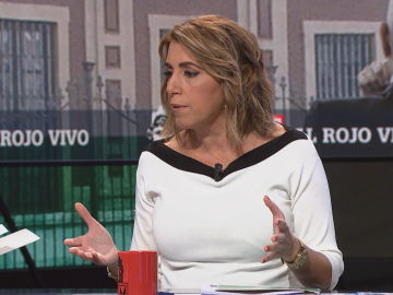 Susana Díaz en Al Rojo Vivo