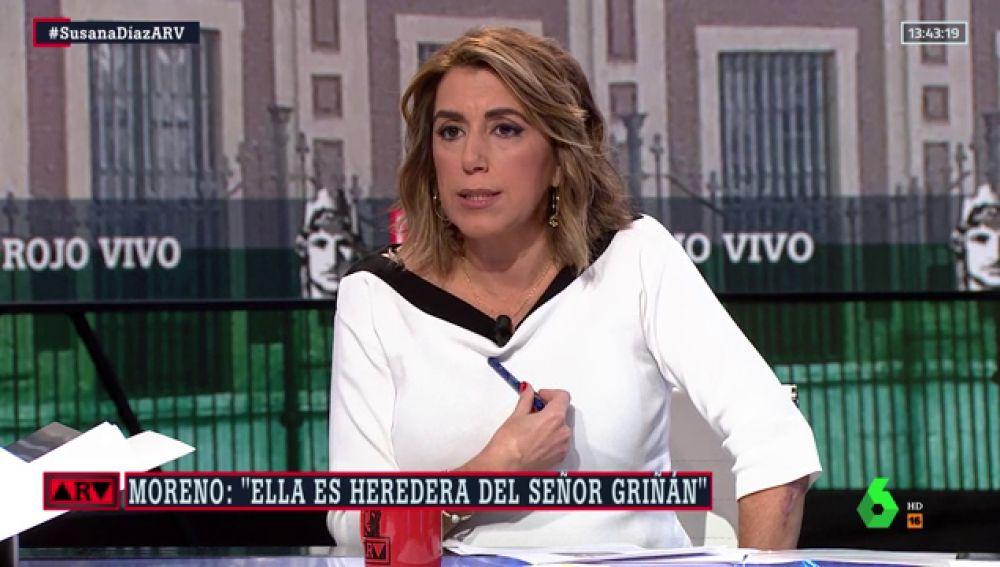 """Susana Díaz: """"Yo apoyo la única alternativa de Gobierno que hay ahora, que pasa por un acuerdo con Unidas Podemos"""""""