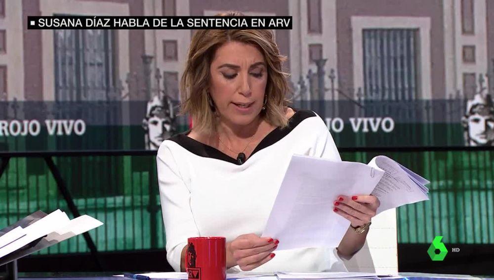 """laSexta Noticias 14:00 (21-11-19)  Susana Díaz: """"No es verdad que nos hayamos retirado de la causa de los ERE"""""""