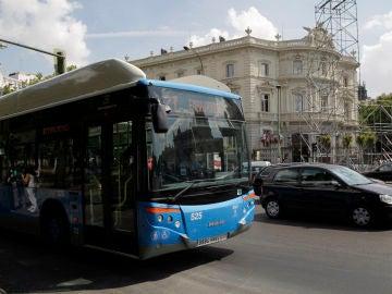 Un autobús de la EMT en Madrid