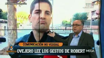 """""""Robert Moreno está incómodo hablando de Luis Enrique"""", el experto en comunicación no verbal José Luis Martín Ovejero analiza sus gestos en 'El Chiringuito'"""