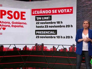 Habla la militancia: así serán las consultas de PSOE, Podemos y ERC sobre el acuerdo de gobierno