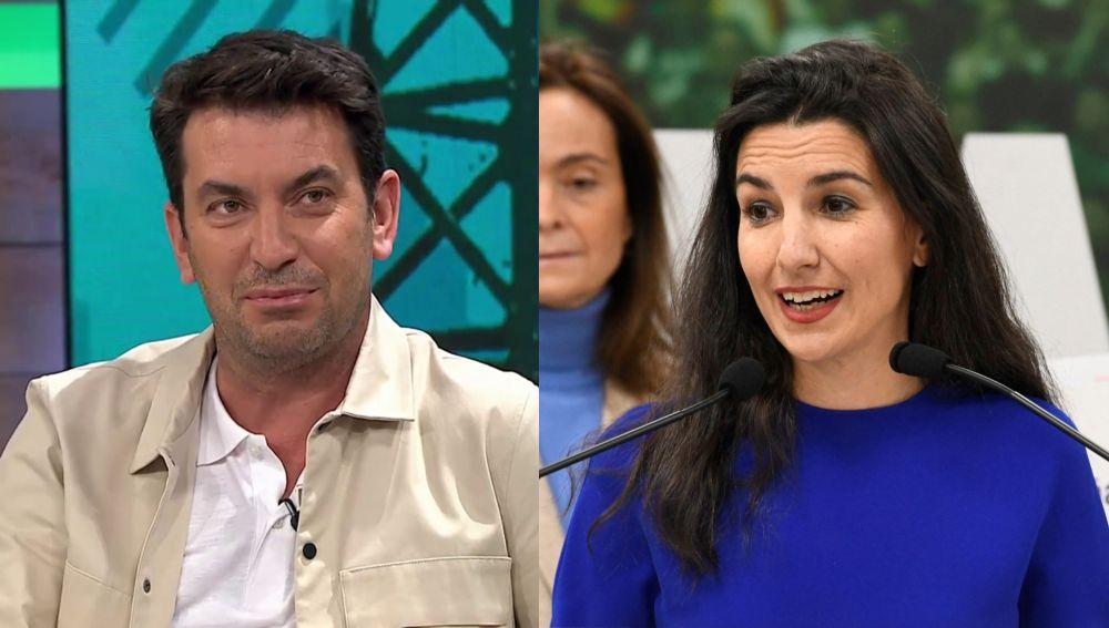 Arturo Valls y Rocío Monasterio