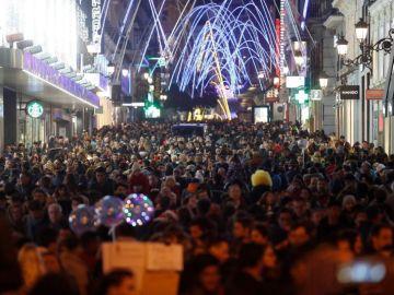 Las calles se llenan de gente el Black Friday
