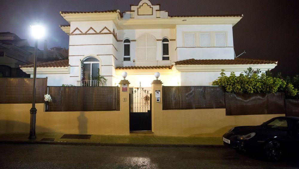 Vista del lugar en el que han ocurrido los hechos, en Mijas (Málaga)