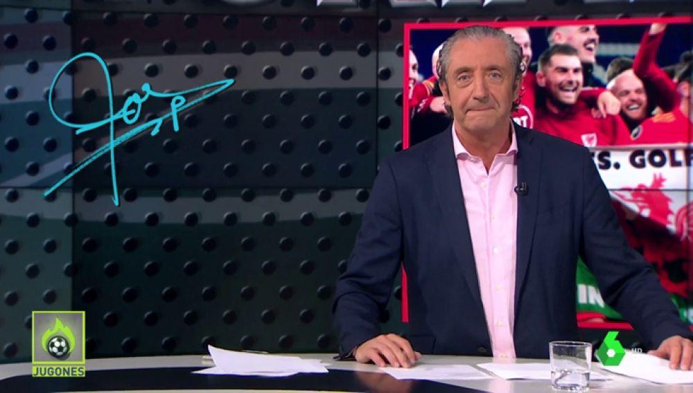 """Josep Pedrerol: """"Bale, sal al Bernabéu con una bandera del Madrid"""""""