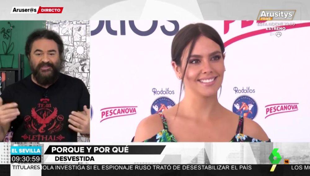 """El Sevilla bromea sobre las trasparencias de Pedroche en las Campanadas: """"Dentro de 10 años habrá que pixelarla"""""""