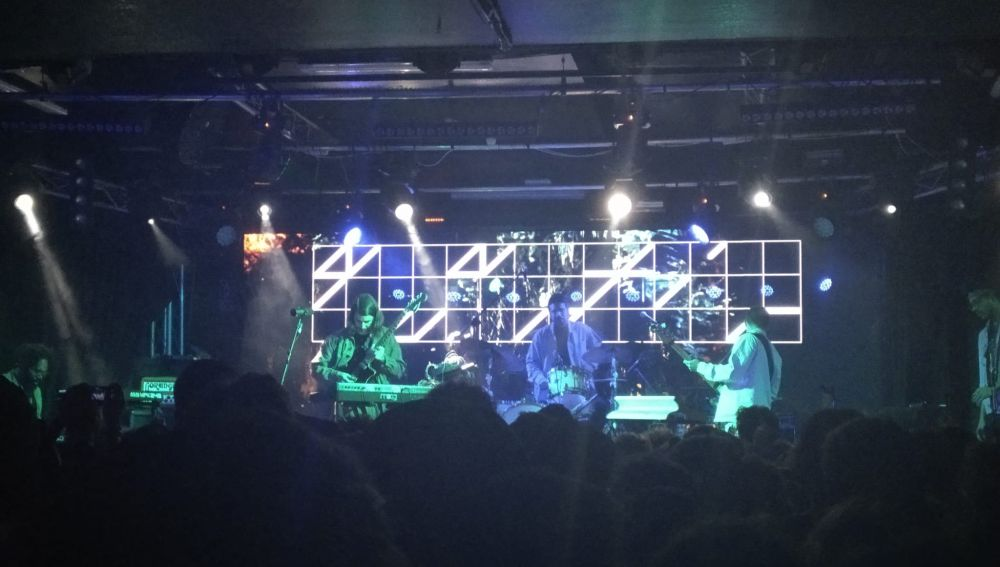 Quantic durante su concierto en Madrid