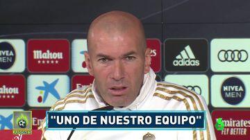 Zidane defiende a Bale